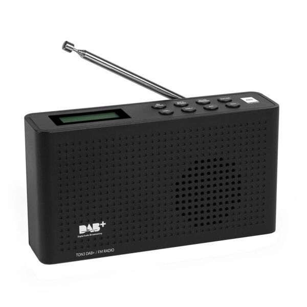 Opticum RED DAB/FM Radio TON-3 Schwarz