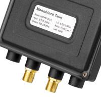 Monoblock LNB Twin hb-digital UHD MB 202 S SCHWARZ