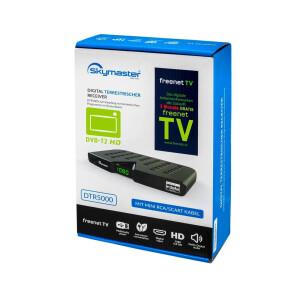 SET B-Ware Skymaster DVB-T2 Receiver + DVB-T Antenne + HDMI Kabel