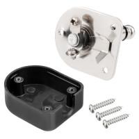 Klinkenstecker Stereo 6,3mm mit Kunststoffgehäuse Winkel
