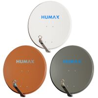 Satellitenschüssel HUMAX Professional 65 / 75 / 90 cm Aluminium Farbe zur Auswahl