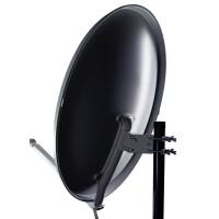 Satellitenschüssel HUMAX Professional 90 cm Aluminium ZIEGELROT