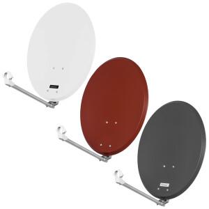 Satellitenschüssel Opticum QA 60 cm / 80 cm Stahl...
