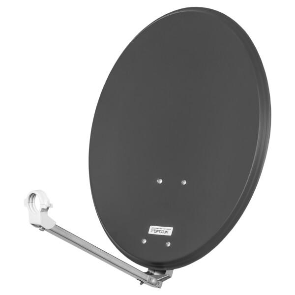 Satellitenschüssel Opticum QA 60 cm Stahl ANTHRAZIT