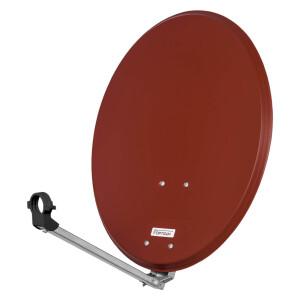 Satellitenschüssel Opticum QA 80 cm Stahl ROT