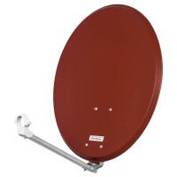 Satellitenschüssel Opticum QA 60 - 60 cm / LH 80 - 80 cm Aluminium Farbe zur Auswahl