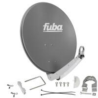 Satellitenschüssel FUBA DAA 650 ALU - 65 cm Aluminium ANTHRAZIT