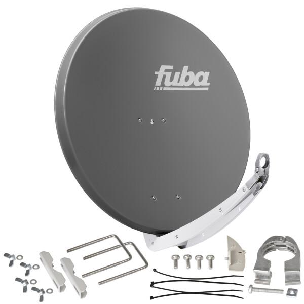 Satellitenschüssel FUBA DAA 850 ALU - 85 cm Aluminium ANTHRAZIT