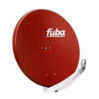 Satellitenschüssel FUBA DAA 850 ALU - 85 cm Aluminium ZIEGELROT