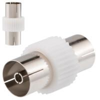 IEC Verbinder Koaxial Buchse / Buchse 9,5mm