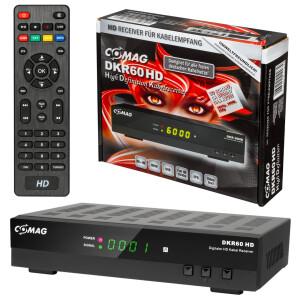 Rückläufer Comag DKR60 HD Kabel DVB-C Receiver