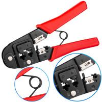 Crimpzange E-SK310 Werkzeug für Netzwerkstecker RJ45 RJ12 RJ11
