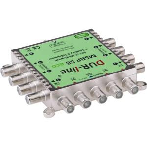 Multischalter SAT Dur-line MSRP 58 ECO 5/8 bis zu 8 Teilnehmer