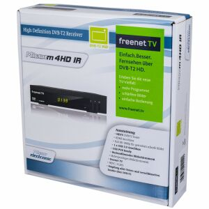 Rückläufer Microm 4HD IR DVB-T2 Receiver FreenetTV