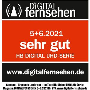LNB Single hb-digital UHD 101W WEISS