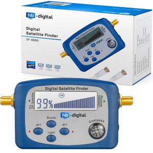 Satfinder Digital hb-digital SF-888G mit LCD Display...