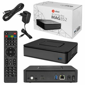 MAG-351 Micro IPTV Set Top Box Internet TV