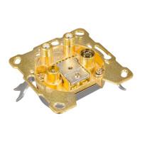 Antennendose UHD-04G 4-fach Stichleitungsdose vergoldet