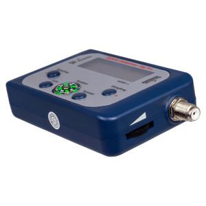 Satfinder Digital Venton Digi Pro mit LCD Display eingebauter Kompass LED Beleuchtung BLAU