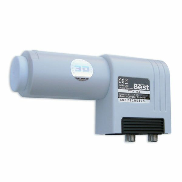 LNB Twin Best Germany HQRF-202 WEISS