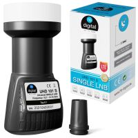 LNB Single hb-digital UHD 101S SCHWARZ