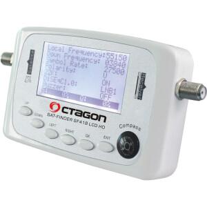 Satfinder Digital Octagon SF-418 mit LCD Display Strom...
