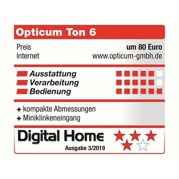 Opticum RED Radio TON-6W Internet / FM