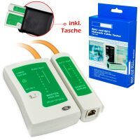 Network Cable Tester / LAN Cable Tester RJ45 with Bag