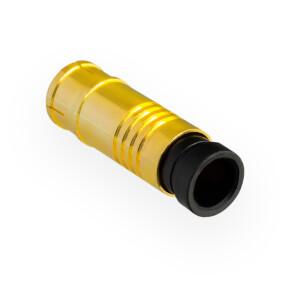 Kompression IEC-Stecker für Koaxkabel Ø 6,8 - 7,2 mm vergoldet