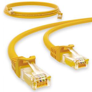1 m RJ45 Patch cable CAT 6 U/UTP PVC Yellow