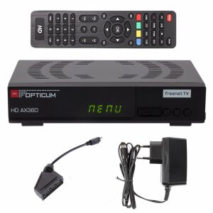 RED Opticum HD AX360 /DVB-T/T2 Receiver