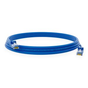 0,5 m RJ45 Patchkabel CAT 6 U/UTP PVC Blau