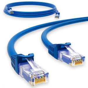 2 m RJ45 Patch cable CAT 6 U/UTP PVC Blue