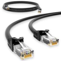 3 m RJ45 Patch cable CAT 6 U/UTP PVC Black
