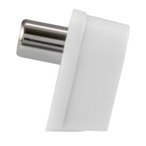 Winkel IEC-Buchse Schraubanschluß Kunststoffgehäuse