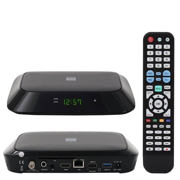 RED Opticum Pyramid Android und DVB-S2 Receiver